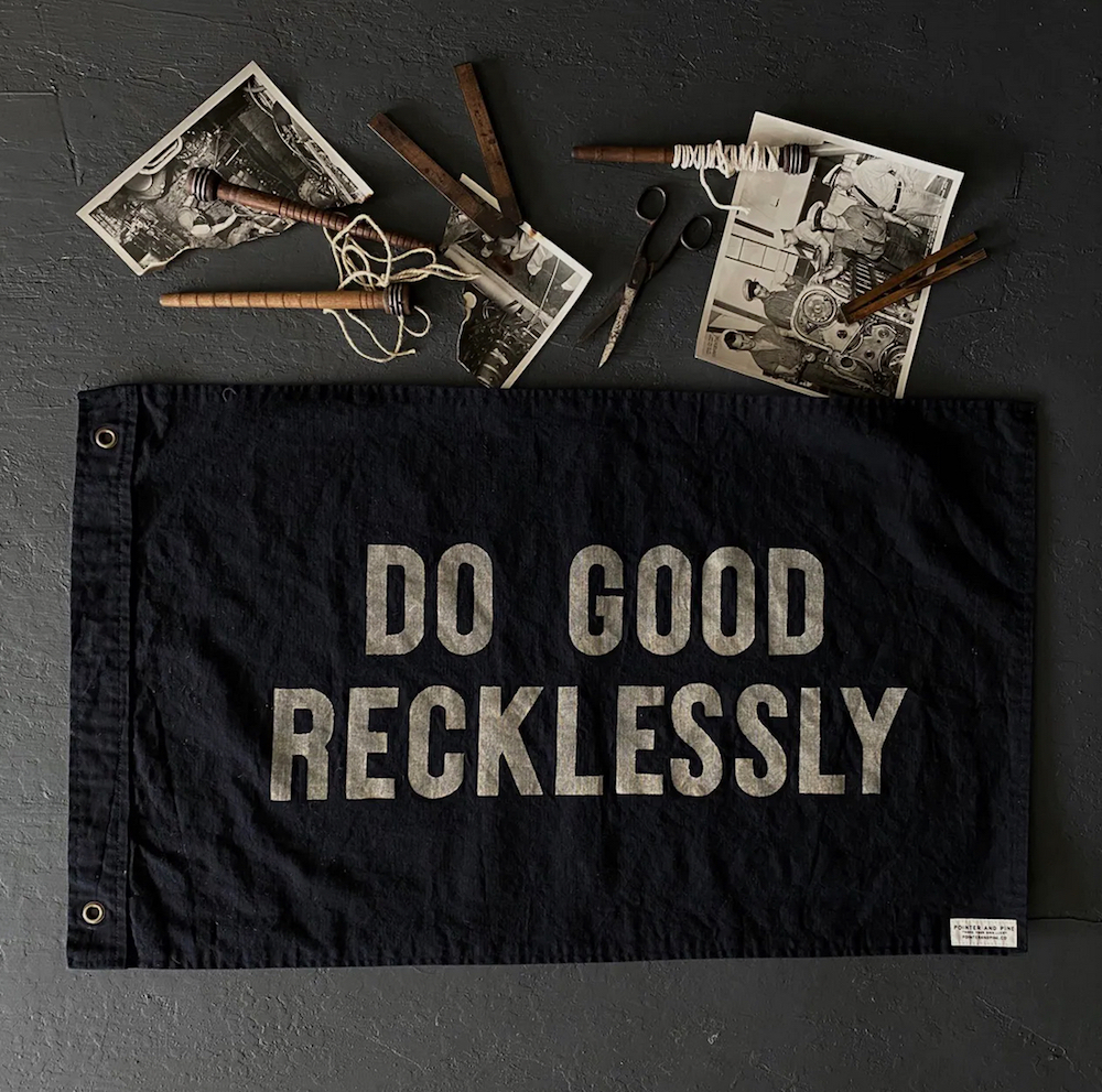 Do Good Recklessly Towel