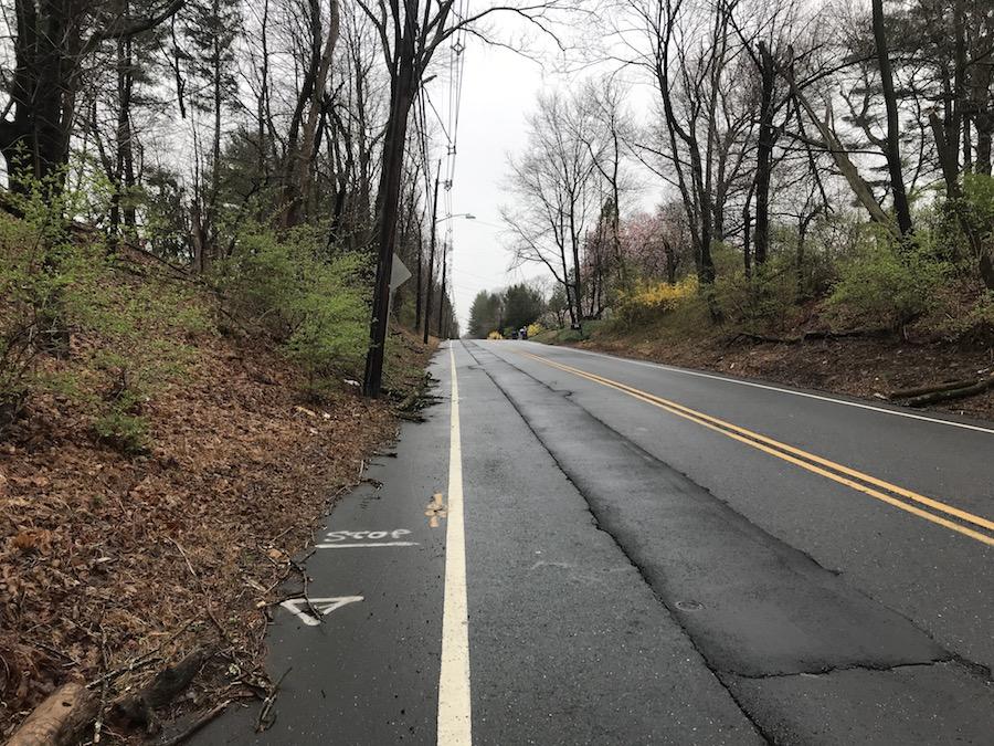 running diary empty roads