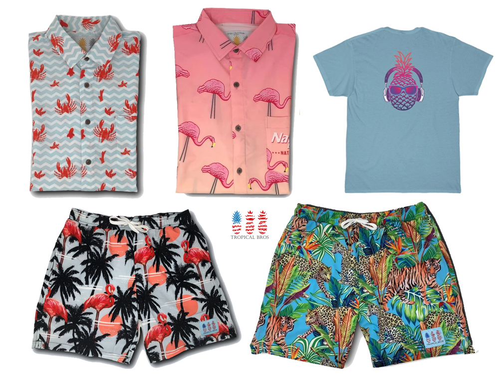 Tropical Bros Dad Clothes
