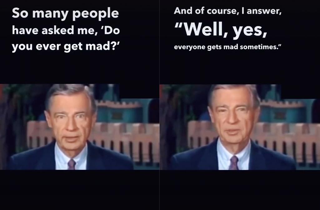 Mr Rogers Advice Parents