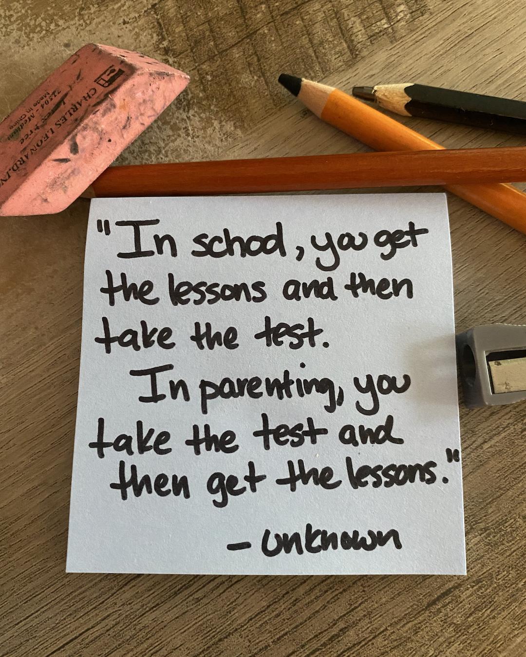 Parenting Note #770